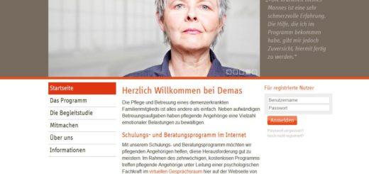 Demenz anders sehen - Online Beratung für pflegende Angehörige