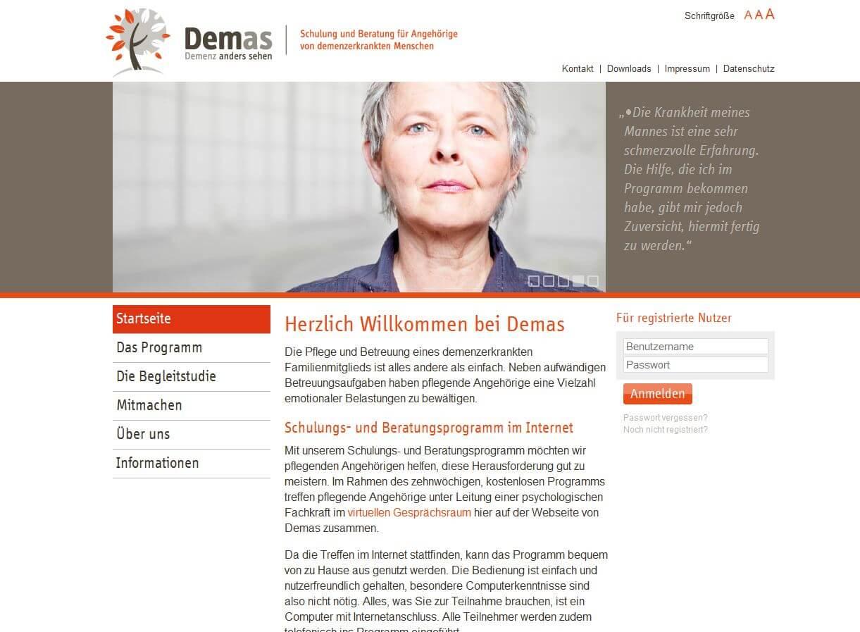 Online Beratung F 252 R Angeh 246 Rige Von Demenzkranken Magazin Wohnen Und Leben Im Alter